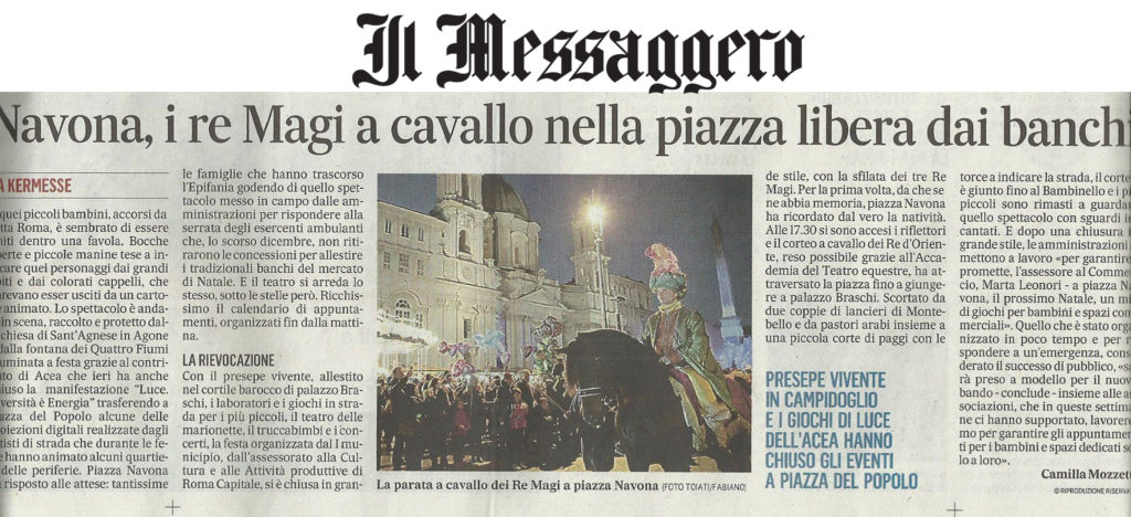 messaggero 7 gen